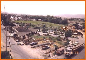 內湖區第六期重劃前,房屋老舊,地籍紊亂之二