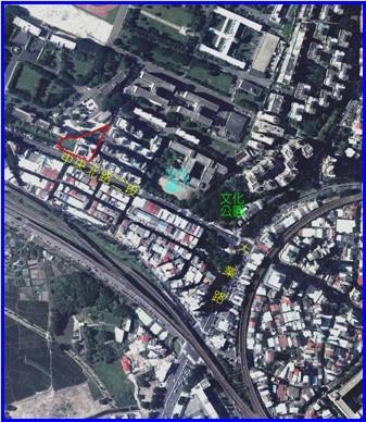 北投區第七期航照位置圖