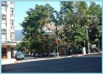 北投區第三期重劃後,綠化街景,社區美觀
