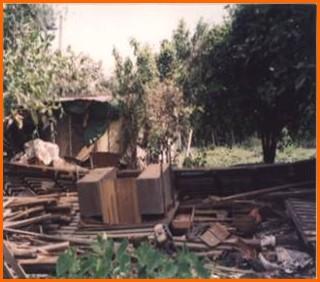 士林區第一期重劃前環境雜亂,土地未有效利用