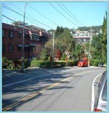 士林區第一期重劃後,道路寬敞,交通便捷,居住環境良好