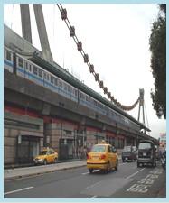 士林區第二期重劃後,闢建捷運劍潭站周邊道路,減輕士林夜市車流壓力