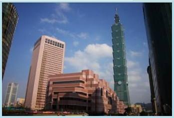 松山區第二期重劃後,信義商圈101金融大樓、世貿展覽帶動商業活絡繁榮