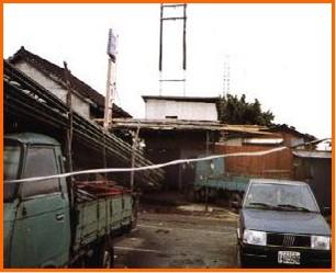 松山區第五期重劃前,房舍簡陋之一