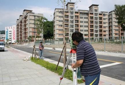 區段徵收區地籍測量情形