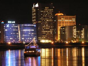 內湖第六期市地重劃區(內湖科技園區)夜間實景