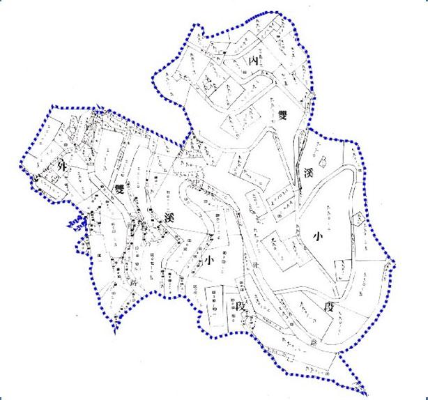 開新視窗-士林區第一期重劃前地籍圖