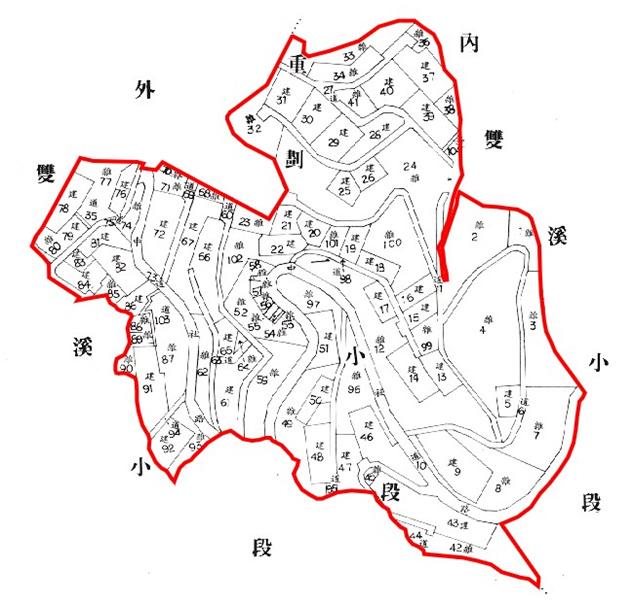 開新視窗-士林區第一期重劃後地籍圖
