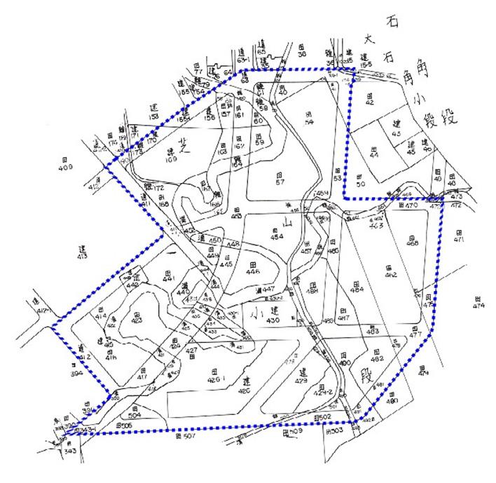 開新視窗-士林區第三期重劃前地籍圖