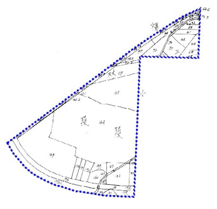 開新視窗-士林區第四期重劃前地籍圖