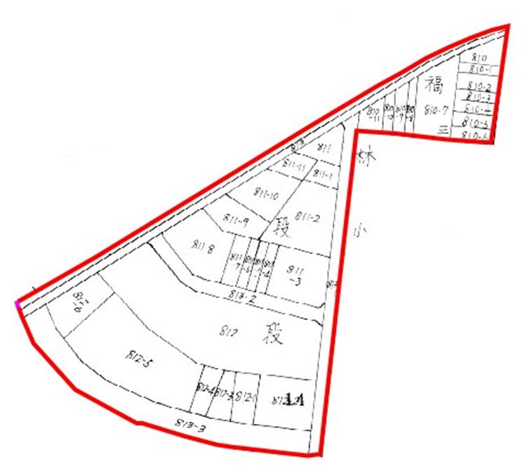 開新視窗-士林區第四期重劃後地籍圖