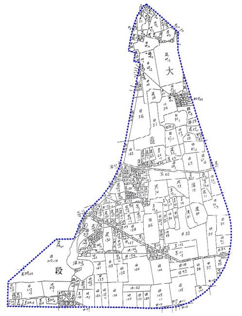 開新視窗-中山區第七期重劃前地籍圖