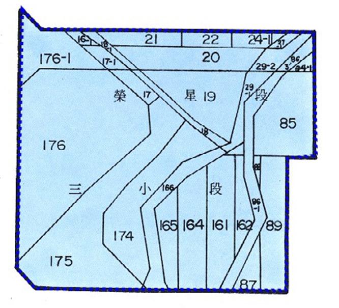開新視窗-中山區第九期重劃前地籍圖