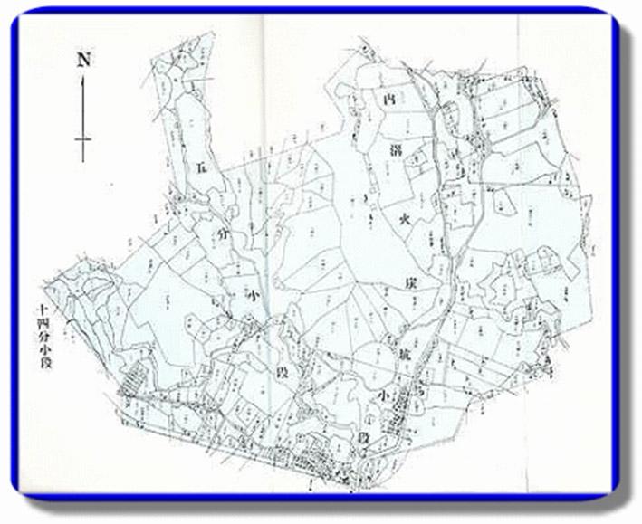 開新視窗-內湖區第一期重劃前地籍圖