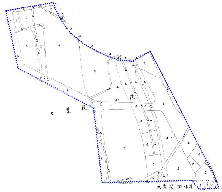 開新視窗-北投區第五期重劃前地籍圖