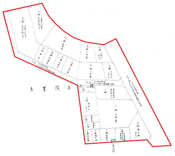 開新視窗-北投區第五期重劃後地籍圖