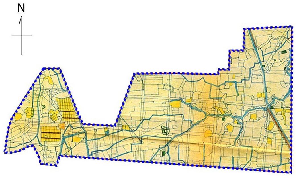開新視窗-松山區第一期重劃前地籍圖