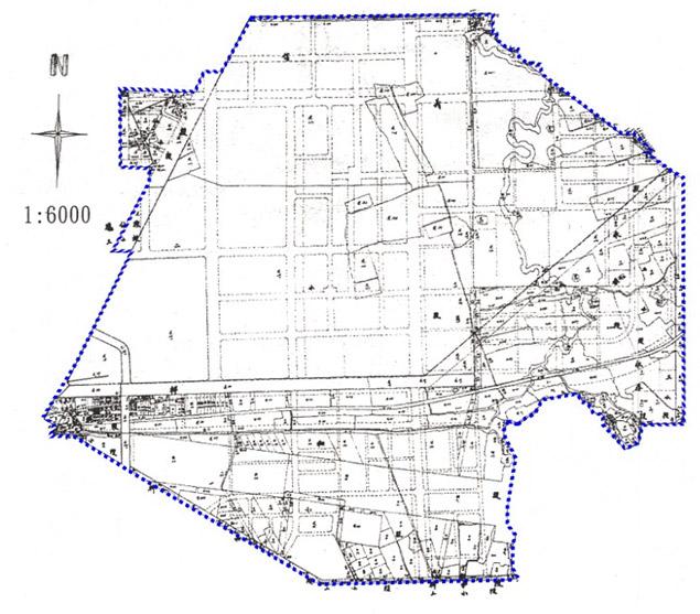 開新視窗-松山區第二期重劃前地籍圖
