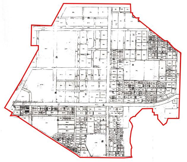 開新視窗-松山區第二期重劃後地籍圖