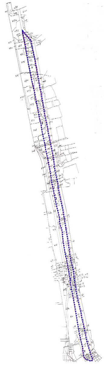 開新視窗-松山區第五期重劃前地籍圖