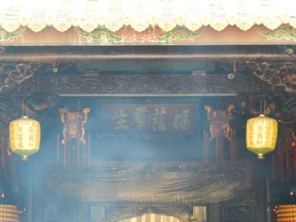 廟宇香火鼎盛