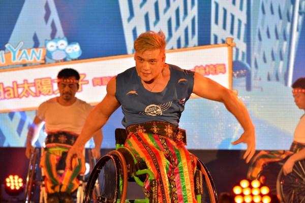 森林斯納依嘉年華馬少輪椅舞表演
