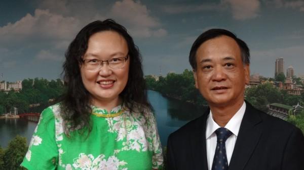 駐臺北越南經濟文化辦事處代表裴仲雲錄製賀詞6
