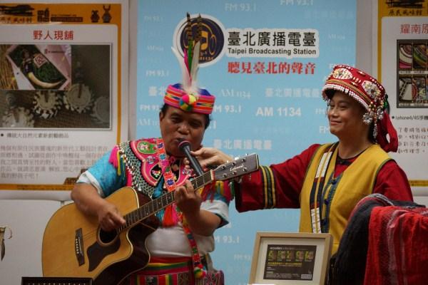 國寶級原住民音樂文創老師蔣進興獻唱創作民謠