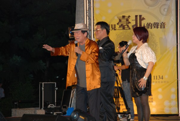 藝人劉福助唱歪歌取悅聽眾