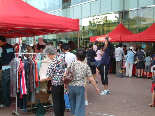開新視窗-民眾熱烈參與跳蚤市場