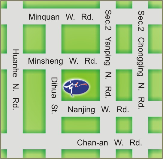 DaDaoCheng Theater map
