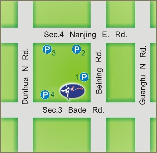 Taipei City Arts Promotion Office map