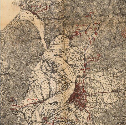1940年代臺北盆地內最大的自來水管網-臺北水道