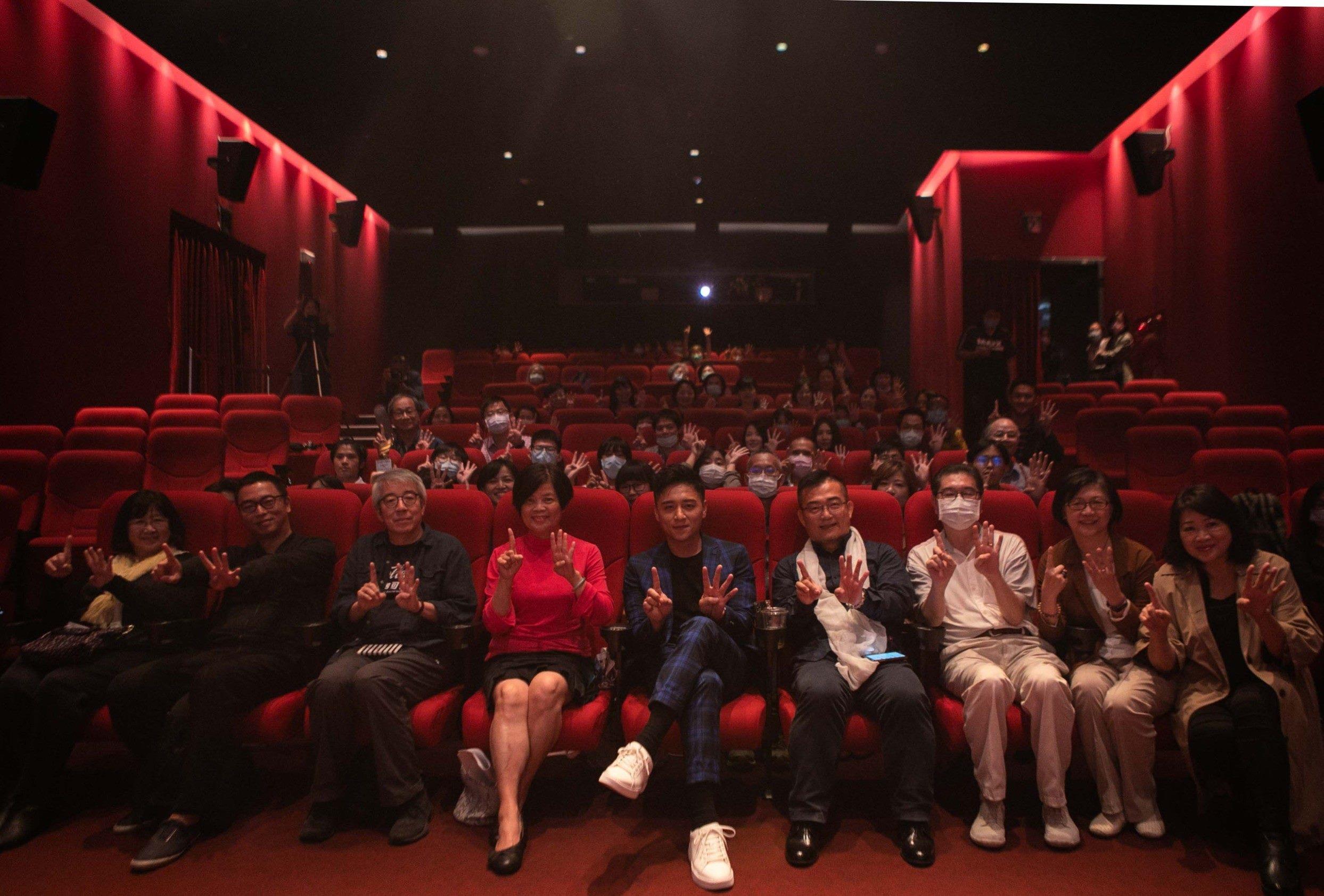 2020勞動金像獎頒獎人、得獎者、評審、代言人及現場觀眾大合影