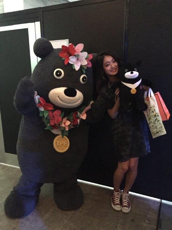 熊讚在超十代時尚秀後台直擊池田美優邀請來台北旅遊