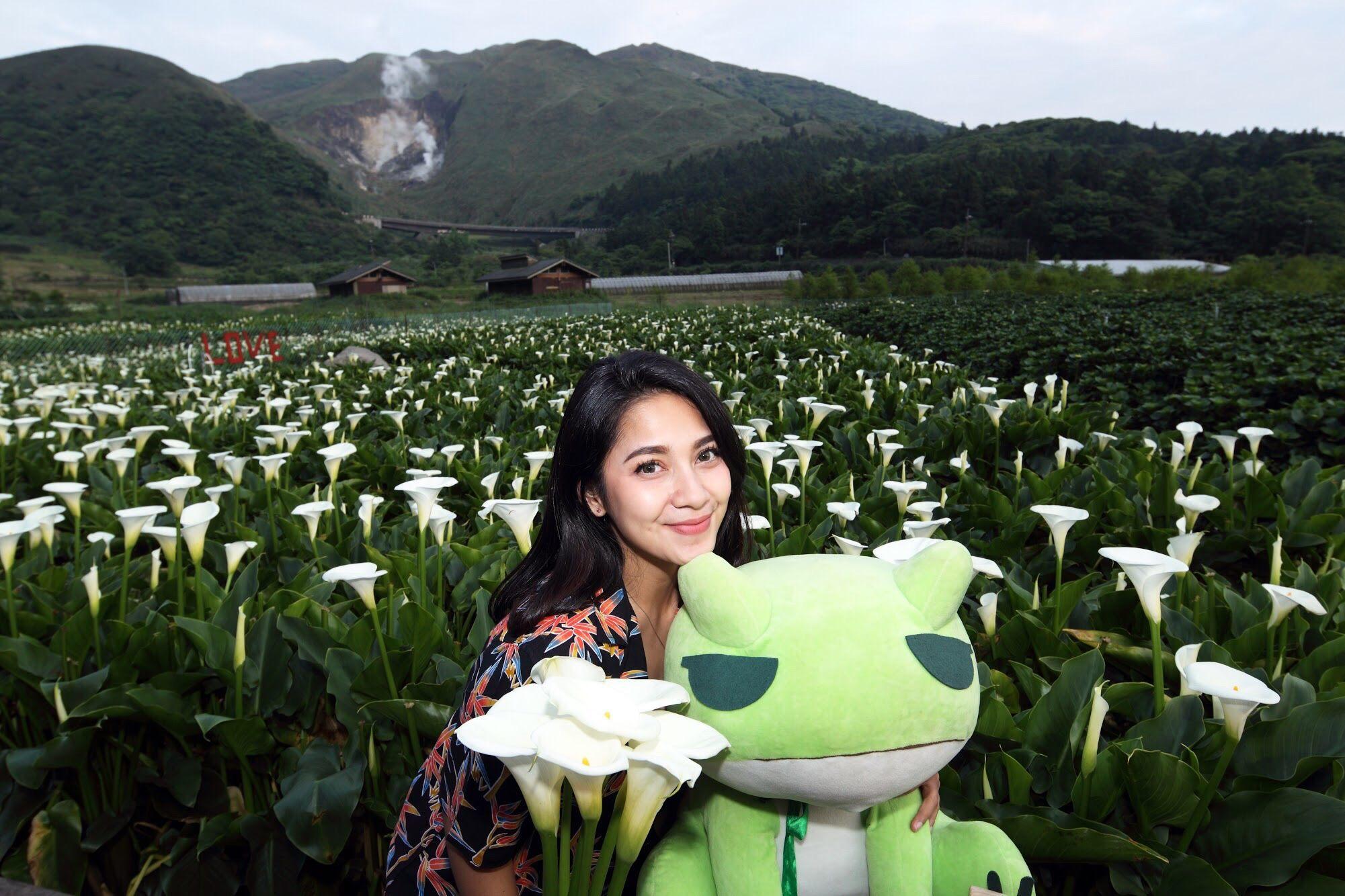 印尼知名演員網紅dinda_kirana來臺踩線盛讚臺北的美景、美食與悠閒步調