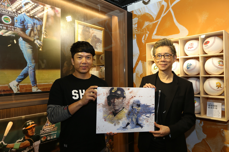 台北探索館二樓特展廳展出知名漫畫家鍾孟舜為周思齊繪製的作品