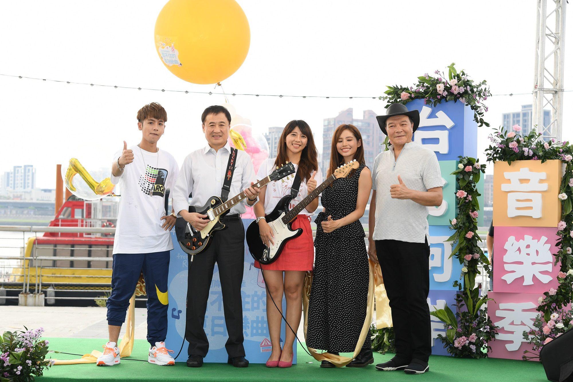 8月17日至19日一連3天的活動,將有最夯的創作歌手接力演唱。