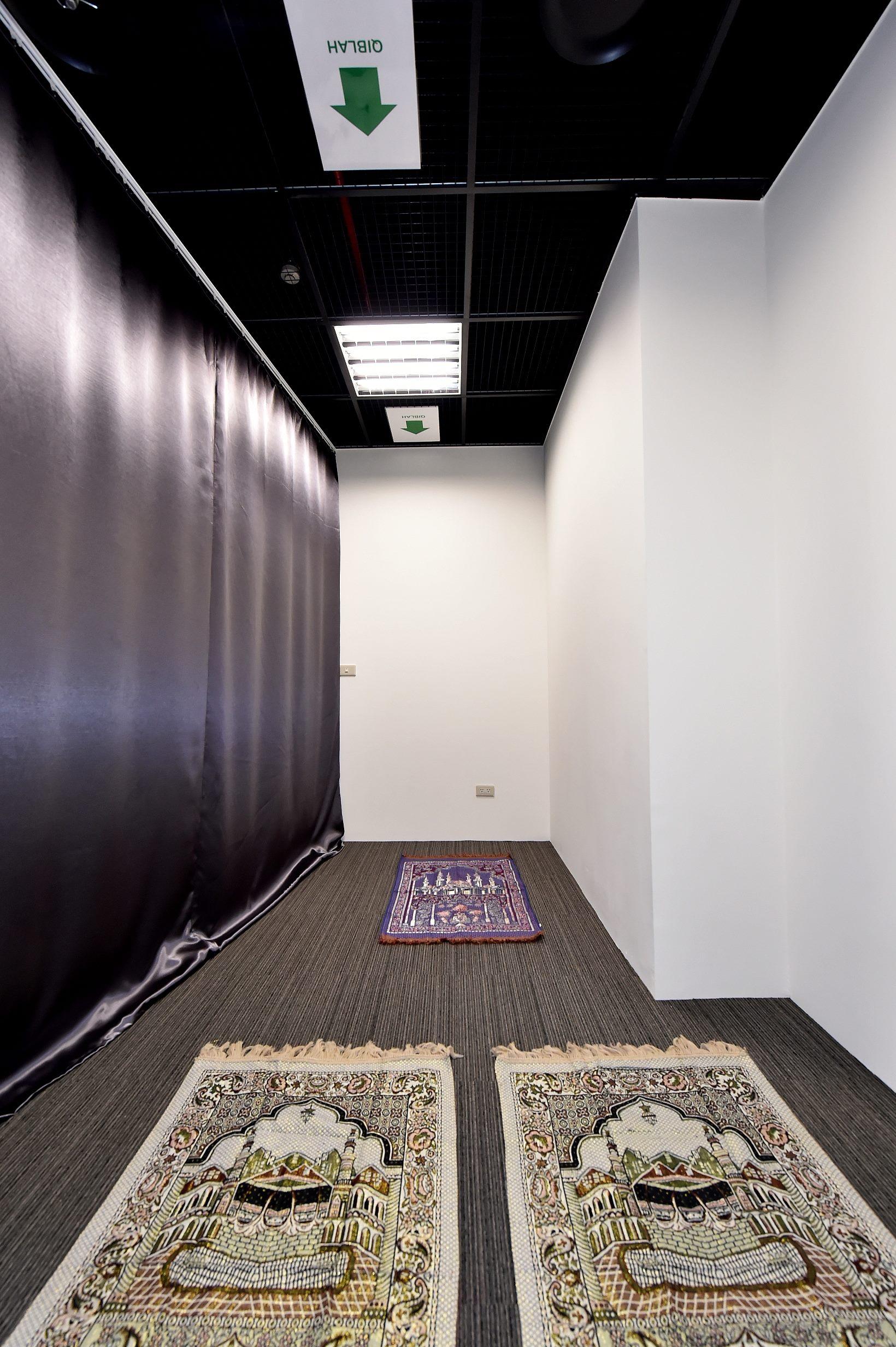 北市府設置穆斯林祈禱室提供便利
