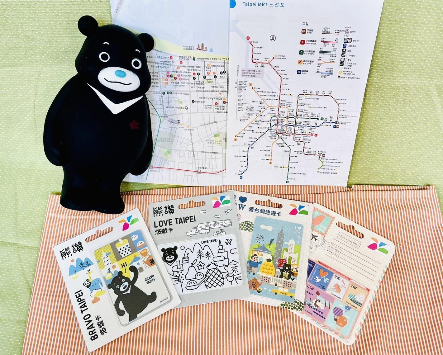 臺北意象悠遊卡讓旅客輕鬆玩臺北