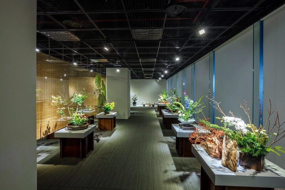 台北探索館「詩情花藝」中華插花藝術展