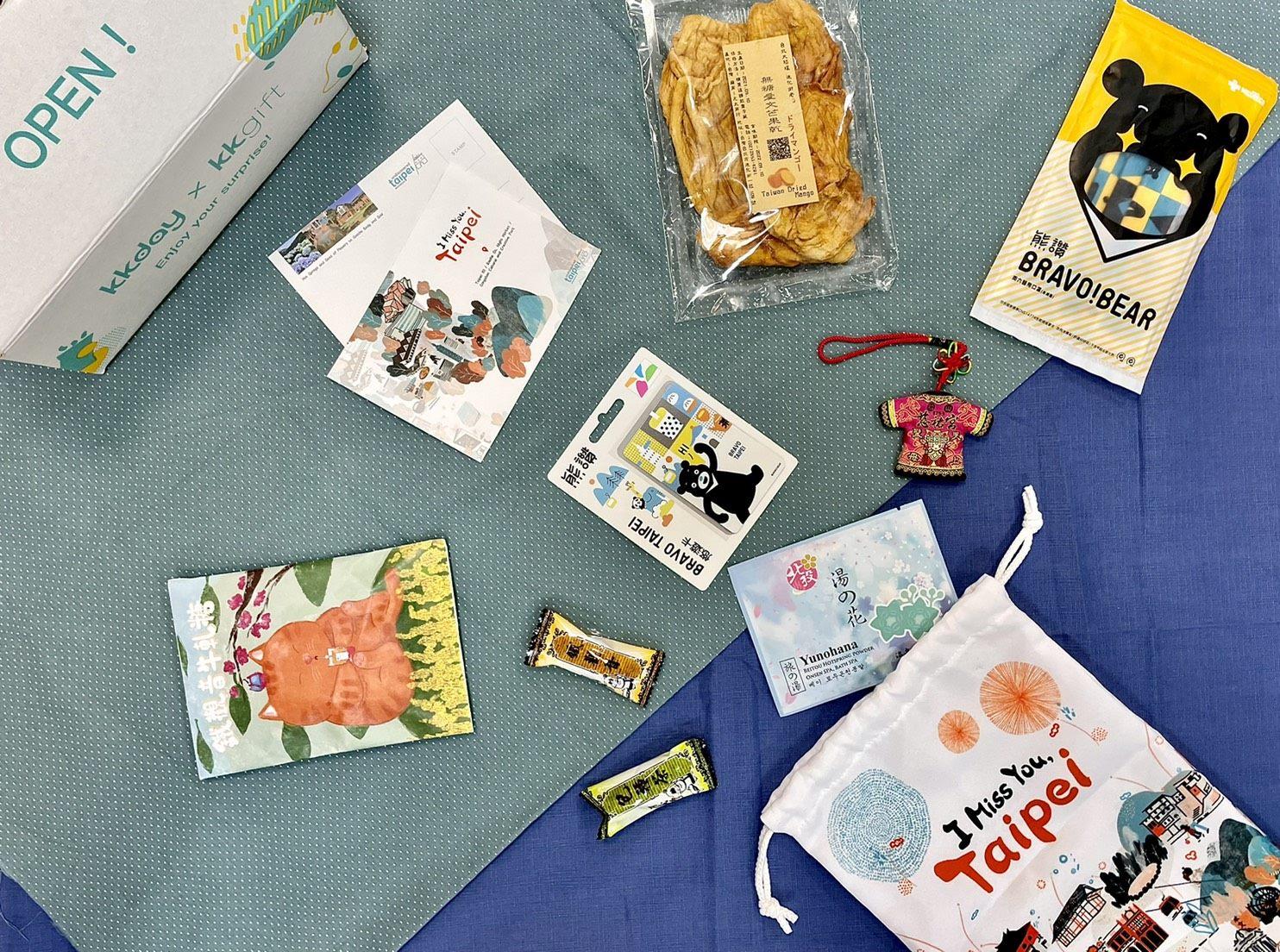 北市觀傳局推出「I Miss You,Taipei」產品,線上購買即時體驗臺北旅遊伴手禮