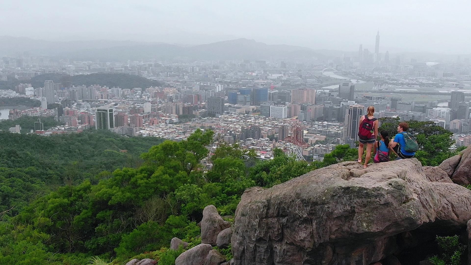 臺北便利的交通路網,讓登山步道離都市不遠