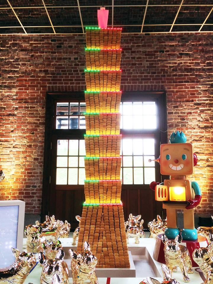 邀請業者到2018臺北燈節設置鳳梨酥可食地景區