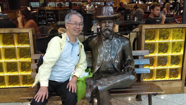 71歲阿伯背包客-文橋印刷文具有限公司 劉明哲負責人