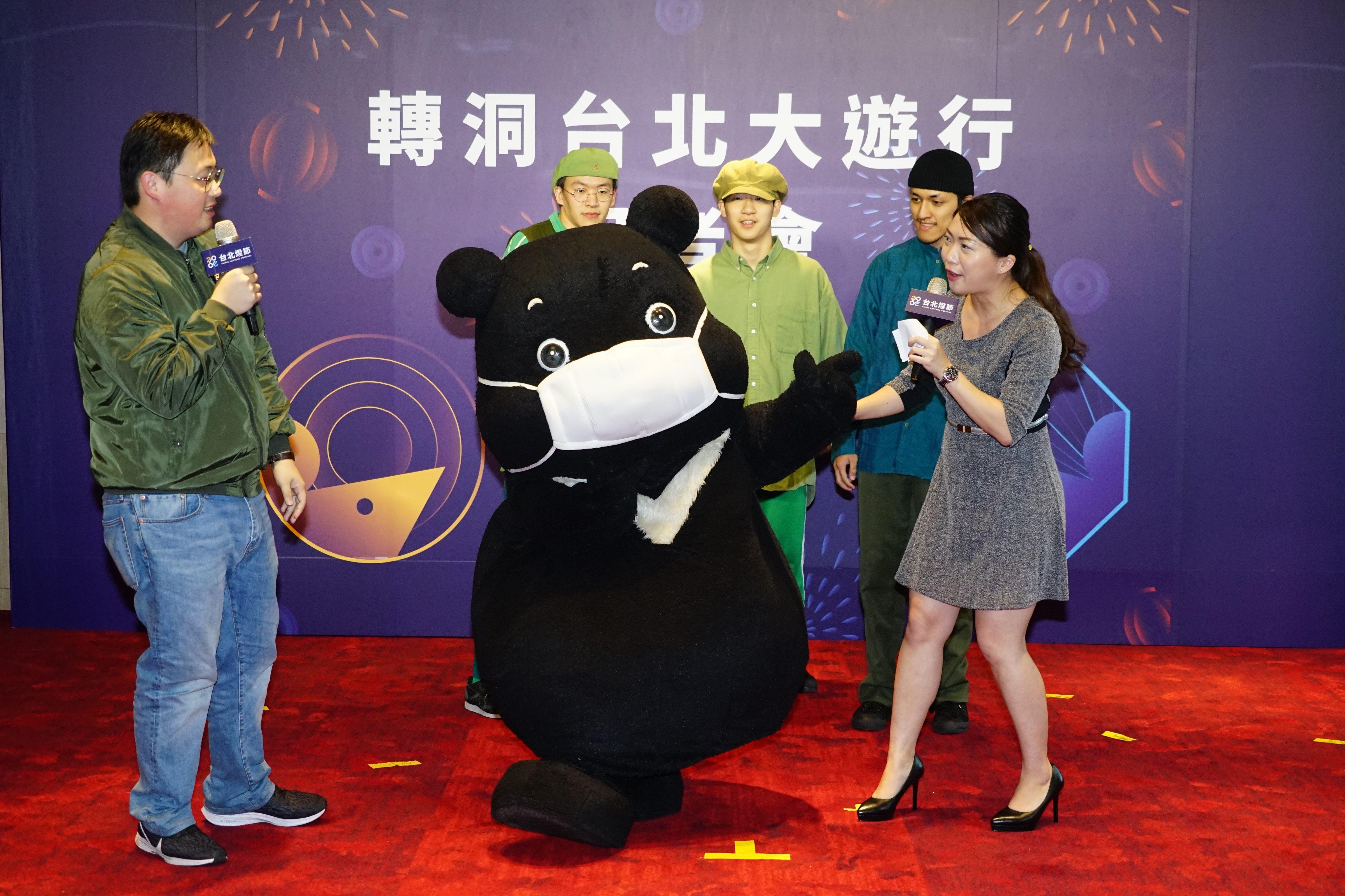 熊讚預告遊行當日領軍12生肖大秀舞技