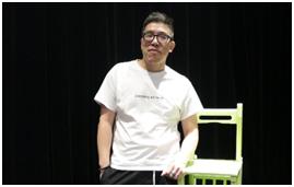 7月場次,講師周佑洋上台分享「現場演出對音樂產業的影響」。