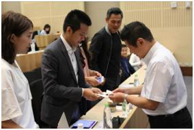 局長與越南VSV Mr.LinhHan交流