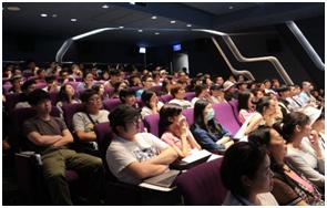 7月加開場次,講師BBDO黃禾執行創意總監 蔡明丁,台下學員踴躍參與。