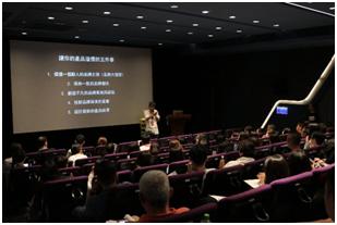 10月場次,講師奧美廣告副董事長葉明桂分享品牌人性化之案例。